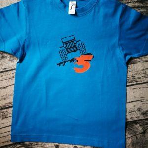 marškinėliai vaikams su spauda