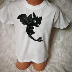 Marškinėliai su spauda vaikams